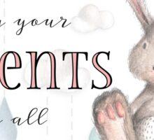 Children Obey Your Parents-Col 3:20 Pink Sticker