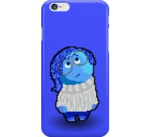 Inside Out's Sadness: 8-bit Designs iPhone Case/Skin