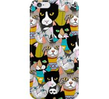 The boring Cats iPhone Case/Skin