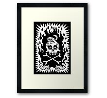 Death, Destruction and Fluffy Kittens Framed Print