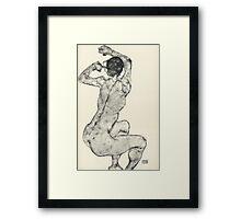 Egon Schiele - Zeichnungen IX. 1915 Framed Print