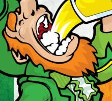 St Patrick's Day Celebrations Variant White Sticker