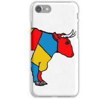 Mondrian Cow iPhone Case/Skin