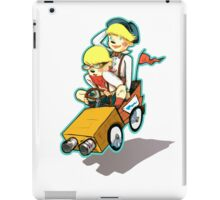 Double Trouble Takes the Lead iPad Case/Skin