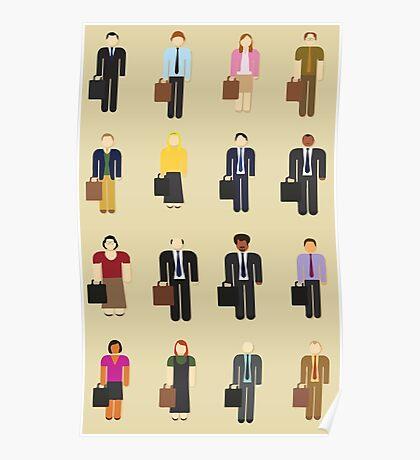 The Office: Characters Poster