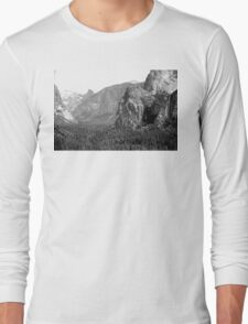 Yosemite Down The Valley Plate 8 Long Sleeve T-Shirt