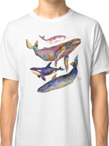 Four Whales Pyramid Classic T-Shirt