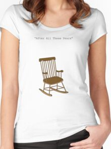 After all these years Women's Fitted Scoop T-Shirt