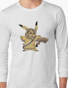 Chewbacca Pikachu - Star Wars Long Sleeve T-Shirt