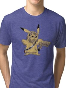 Chewbacca Pikachu - Star Wars Tri-blend T-Shirt