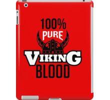 100% pure viking blood iPad Case/Skin