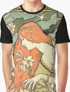 The Red-Haired Lady (Ermitage) art nouveau masterpiece Graphic T-Shirt