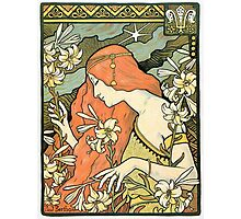 The Red-Haired Lady (Ermitage) art nouveau masterpiece Photographic Print