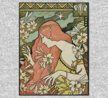 The Red-Haired Lady (Ermitage) art nouveau masterpiece One Piece - Long Sleeve