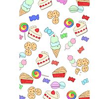 Sweets Pattern Photographic Print