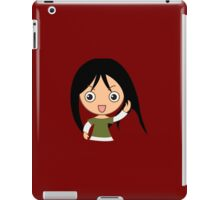 Red GirL iPad Case/Skin