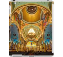 The Symmetry of St. Nicholas Ukrainian Church iPad Case/Skin