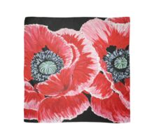 Red Poppies Scarf