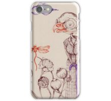 The Old Lady iPhone Case/Skin