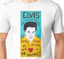 Elvis Presley Folk Art Unisex T-Shirt