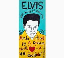 Elvis Presley Folk Art Unisex T-Shirt