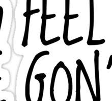 Kendrick Lamar - Alright (white font) Sticker