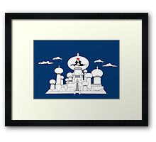 Mouse in Love in Persia Framed Print