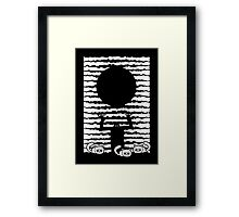 Ten Thousand Years of Darkness and Fluffy Kittens Framed Print