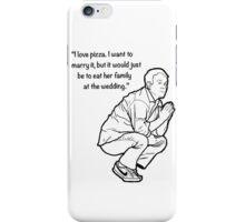 Mike Birbiglia Pizza iPhone Case/Skin