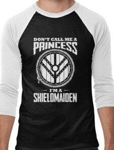 Don't call me a princess - I'm shieldmaiden Men's Baseball ¾ T-Shirt