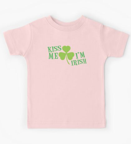 KISS ME IM IRISH  Kids Tee