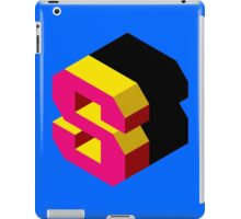 Letter S Isometric Graphic iPad Case/Skin