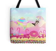 Alaskan Kleek Kai in Candy Land Tote Bag