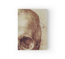 Da Vinci's Skull Notebook Hardcover Journal