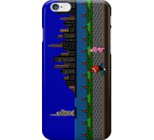 Punch Out Night Scene iPhone Case/Skin