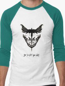 Batface Men's Baseball ¾ T-Shirt