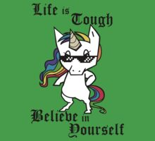 Tough Unicorn Baby Tee