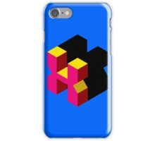 Letter X Isometric Graphic iPhone Case/Skin