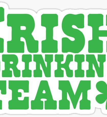 Irish drinking team Sticker
