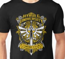 Zelda T-Shirt (Hyrule University) Unisex T-Shirt