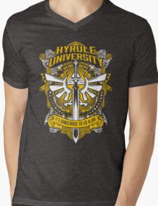 Hyrule University Mens V-Neck T-Shirt