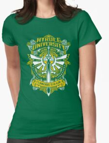 Hyrule University Womens Fitted T-Shirt