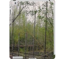 Rope and Wire Fence iPad Case/Skin