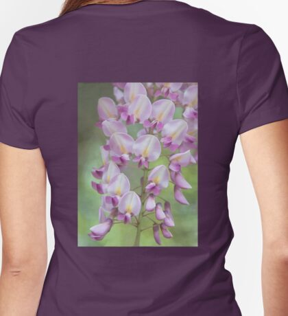 Wisteria, Digitally Enhanced Womens Fitted T-Shirt