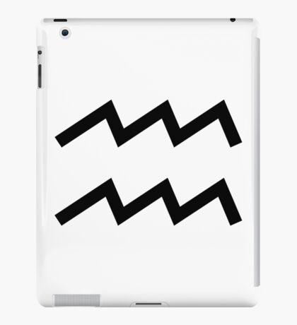 Aquarius (Large Design) iPad Case/Skin