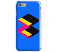 Letter Z Isometric Graphic iPhone Case/Skin