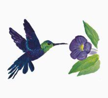 Hummingbirds One Piece - Short Sleeve
