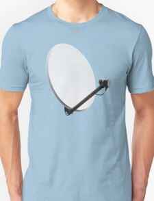 White satellite dish T-Shirt