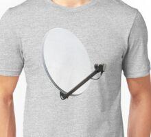 White satellite dish Unisex T-Shirt