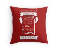 Buffy the Vampire Slayer - Chosen One Throw Pillow